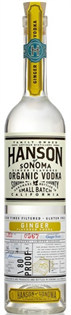 Hanson Of Sonoma Vodka Organic Ginger 750ml